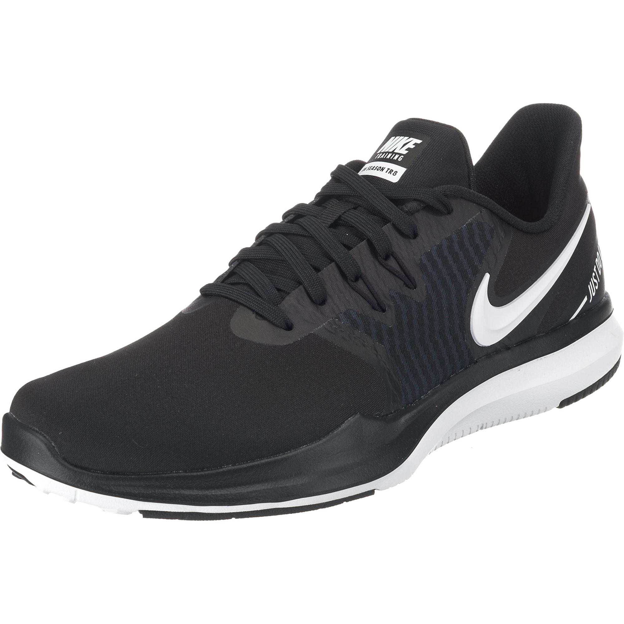 Sportovní boty In-Season Tr 8 černá bílá NIKE