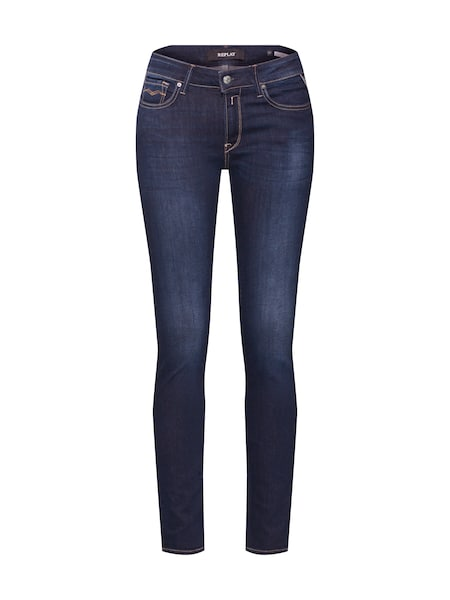 Hosen für Frauen - Jeans 'LUZ HIGH WAIST Pants' › Replay › blue denim  - Onlineshop ABOUT YOU