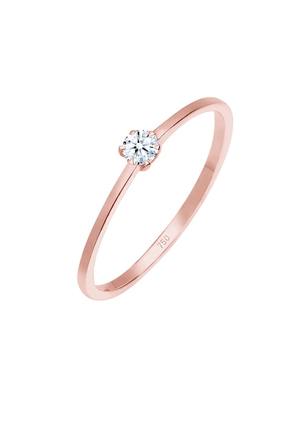 Ringe für Frauen - Diamore Ring rosegold weiß  - Onlineshop ABOUT YOU