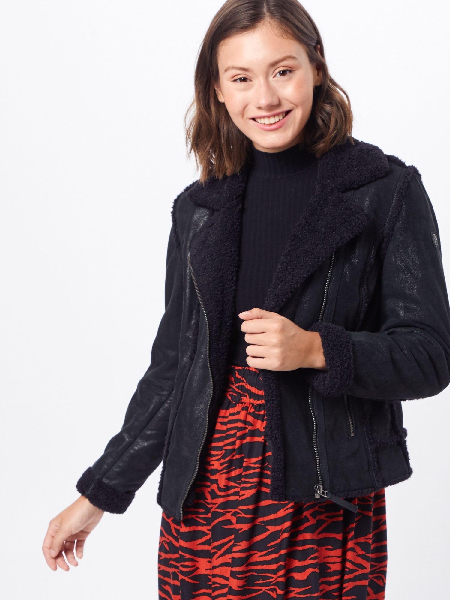 Jacken und Mäntel in Lammfell Optik bei COUTURISTA | COUTURISTA