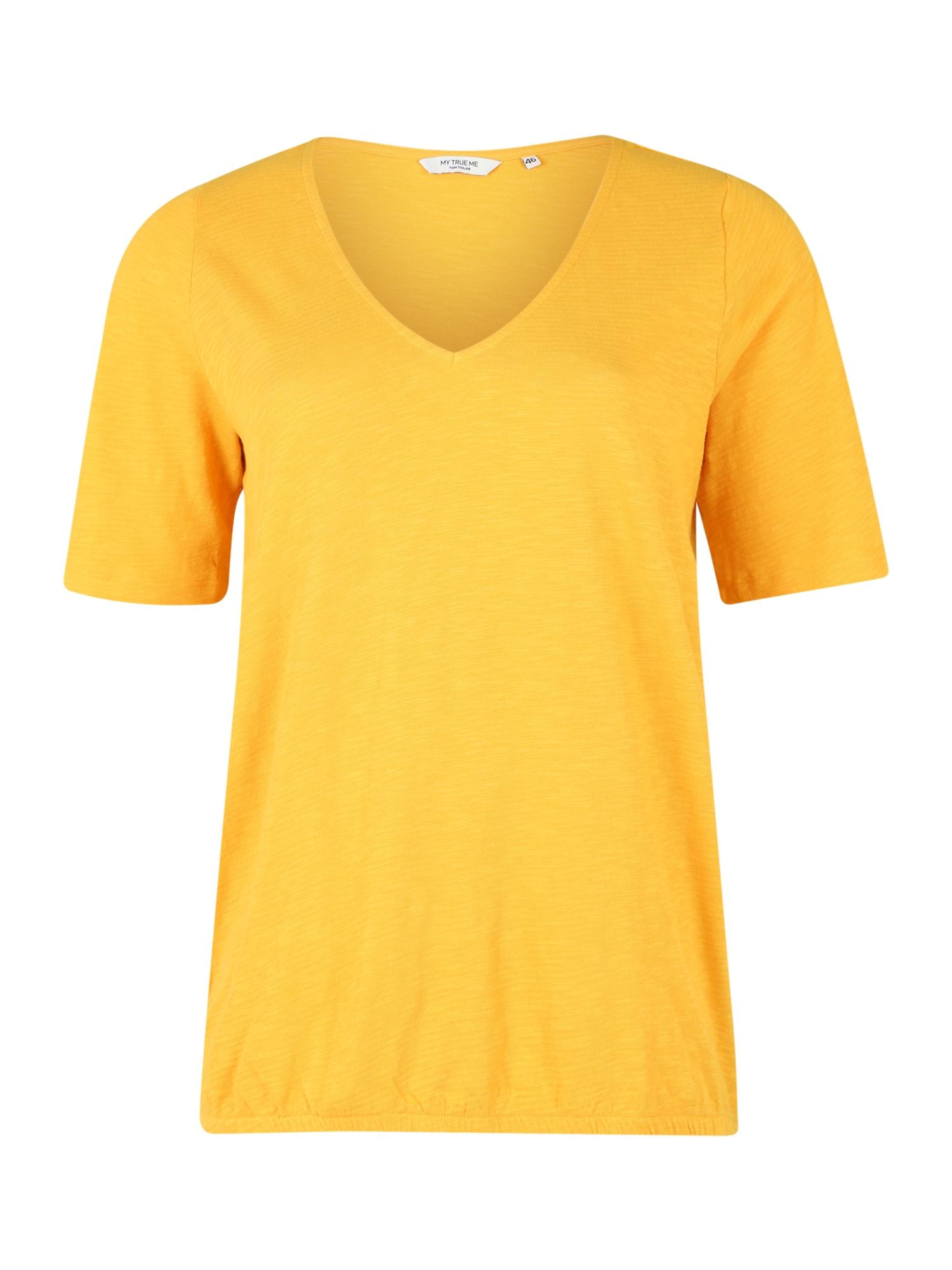MY TRUE ME Tričko  žlutá