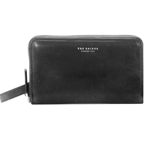 Clutches für Frauen - Jade Clutch Tasche Leder 41 cm › The Bridge › schwarz  - Onlineshop ABOUT YOU