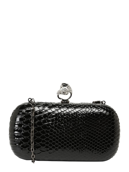 Clutches - Clutch 'Clutch Snake ' › Mascara › schwarz  - Onlineshop ABOUT YOU