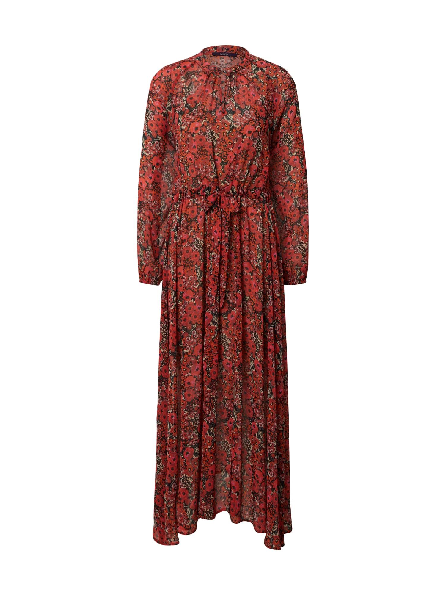 LAUREL Suknelė raudona / mišrios spalvos