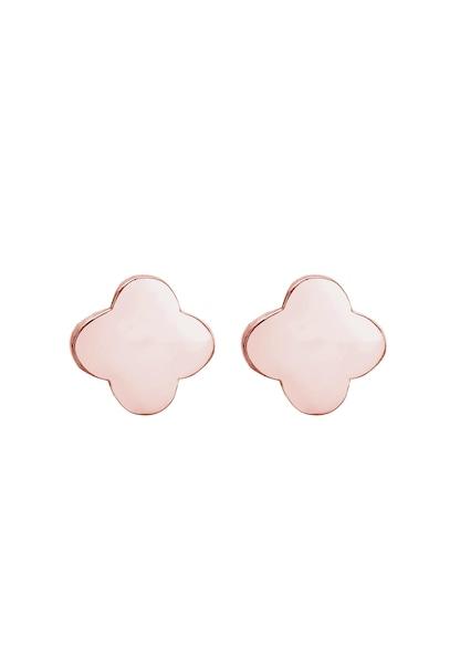 Ohrringe für Frauen - Ohrringe Ohrstecker Geo, Kleeblatt › ELLI › gold rosegold  - Onlineshop ABOUT YOU