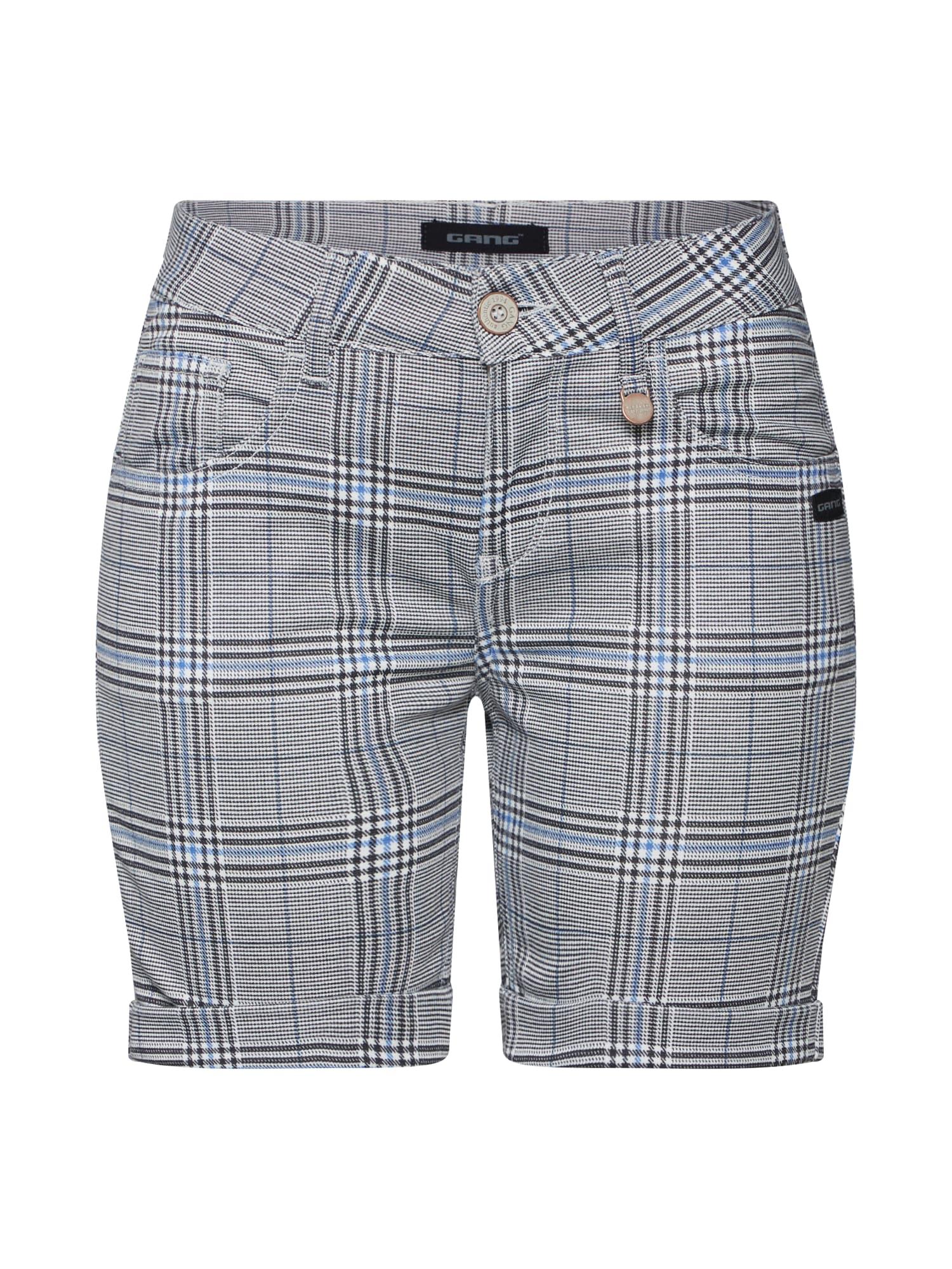 Kalhoty ALICIA modrá šedá černá Gang