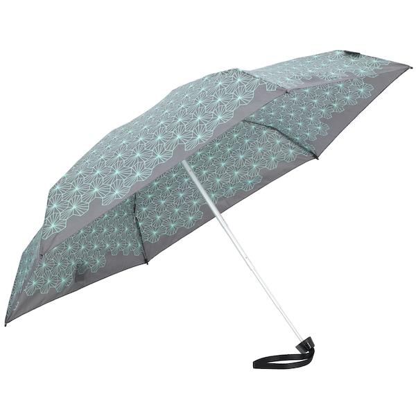 Regenschirme für Frauen - KNIRPS Taschenschirm 'TS.010 Small Manual' 18 cm türkis grau  - Onlineshop ABOUT YOU