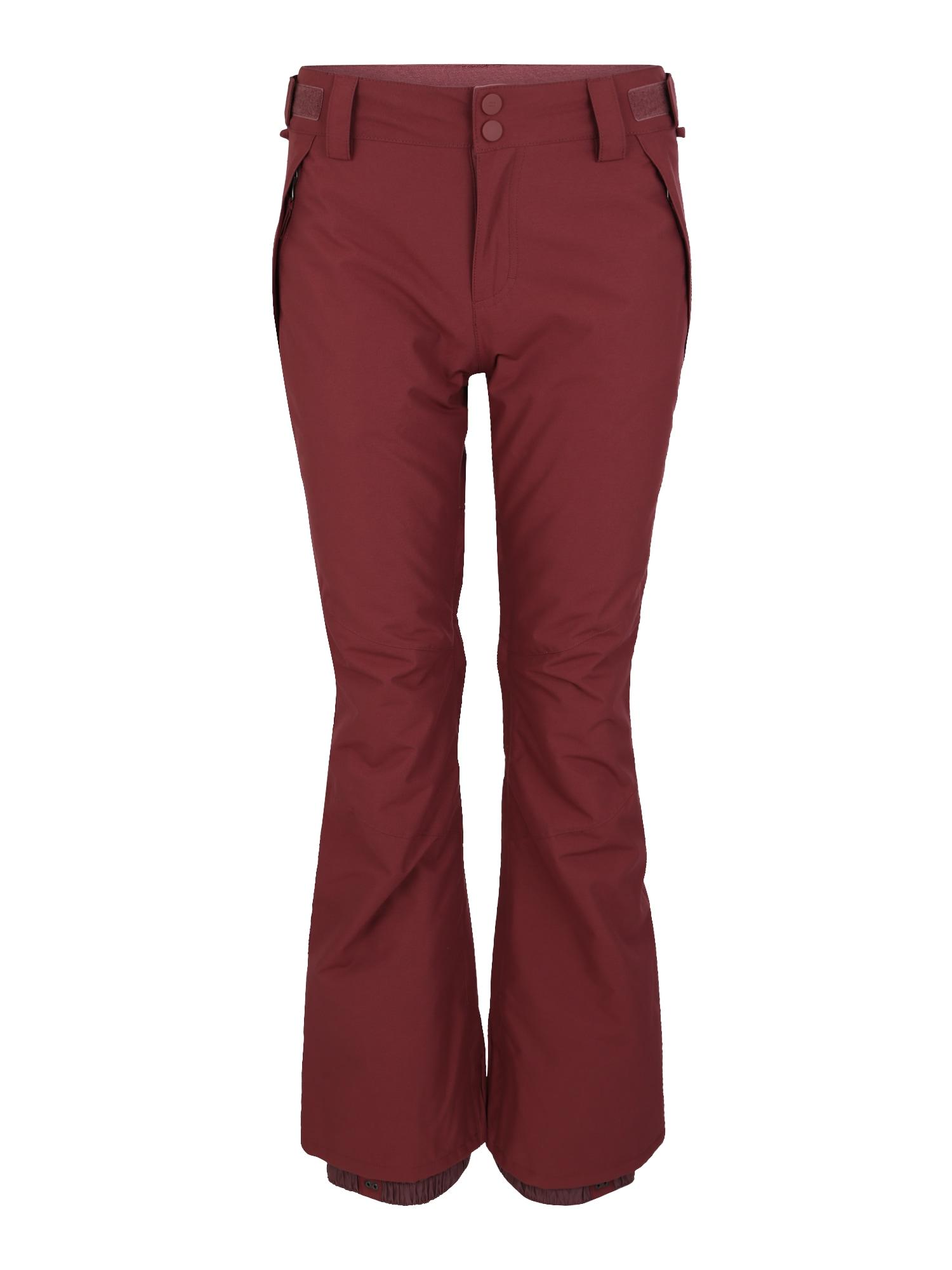 Sportovní kalhoty Malla tmavě červená BILLABONG