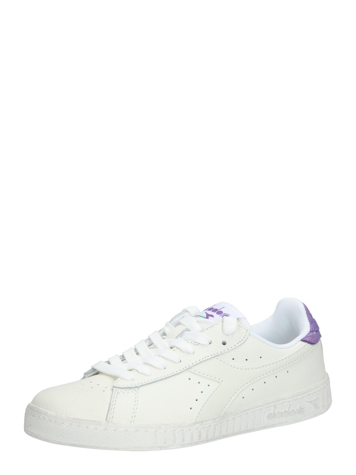 Diadora Sportiniai batai 'GAME L LOW WAXED' balta / purpurinė