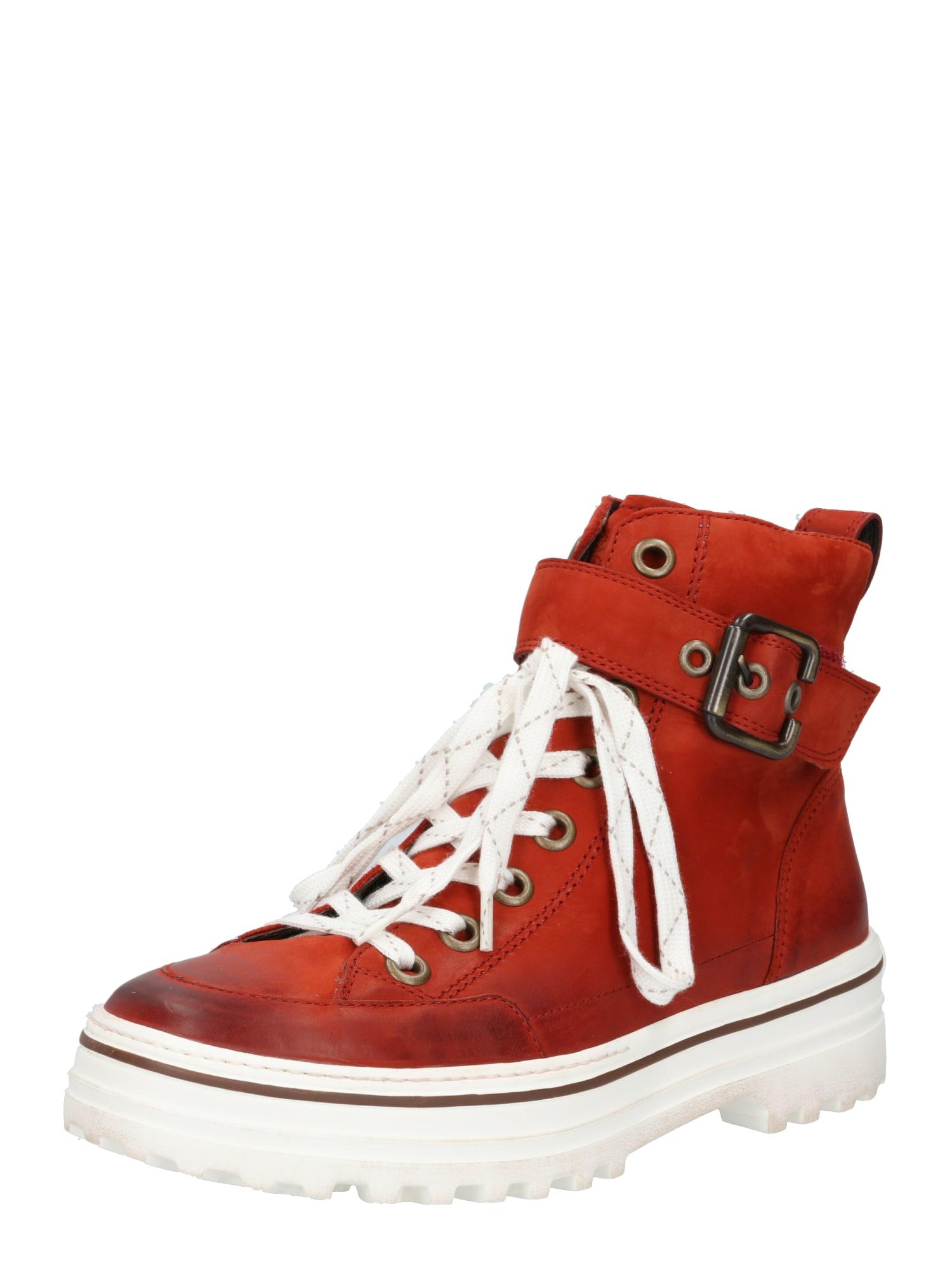 Paul Green Suvarstomieji kulkšnis dengiantys batai raudona / balta