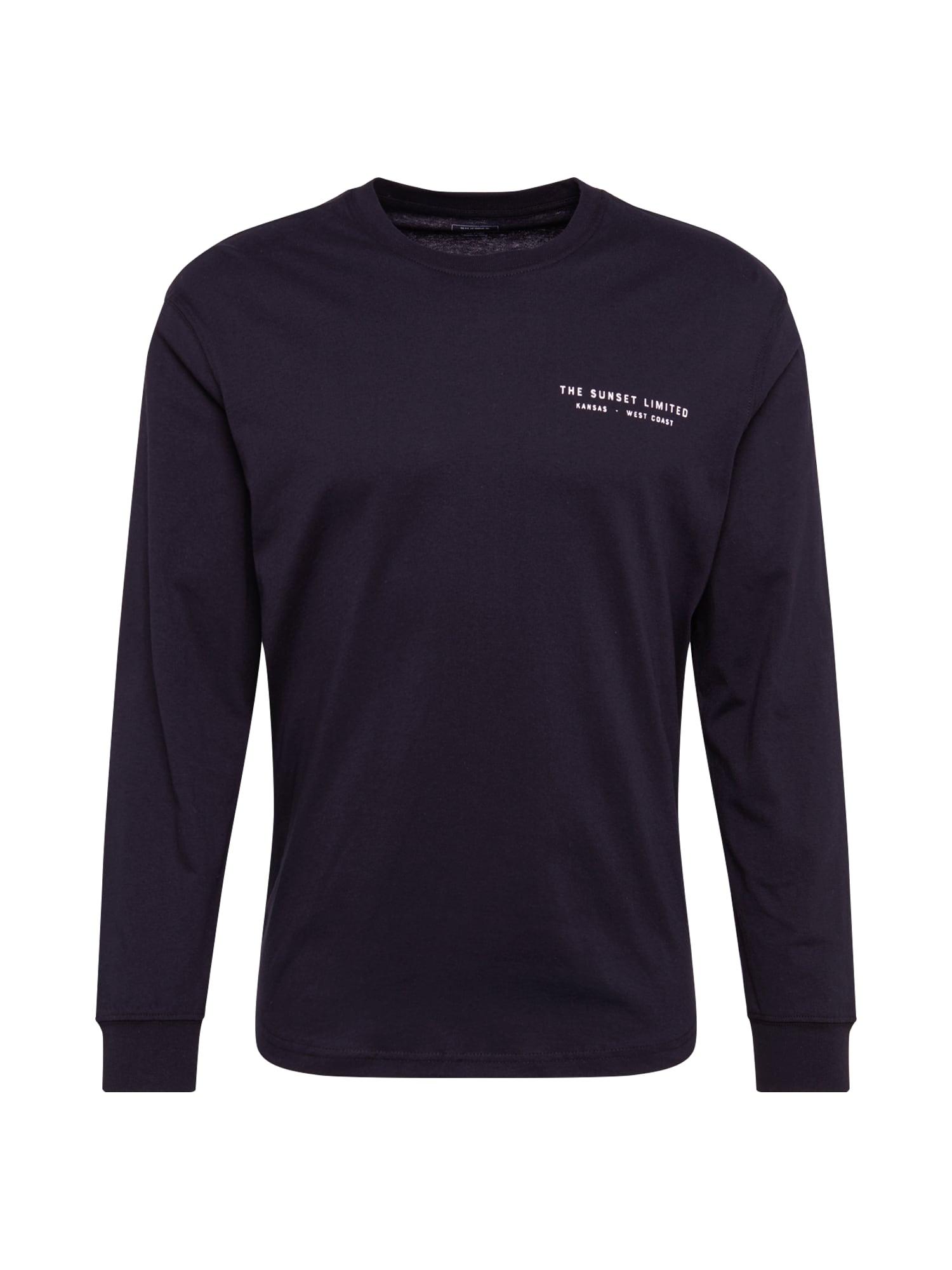 Lee Marškinėliai 'LS GRAPHIC CREW' juoda
