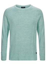 Herren PEAK PERFORMANCE Sweatshirt Thyler blau | 05713112468341