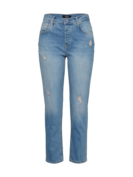 Hosen für Frauen - GUESS Jeans 'EMILEE' blue denim  - Onlineshop ABOUT YOU
