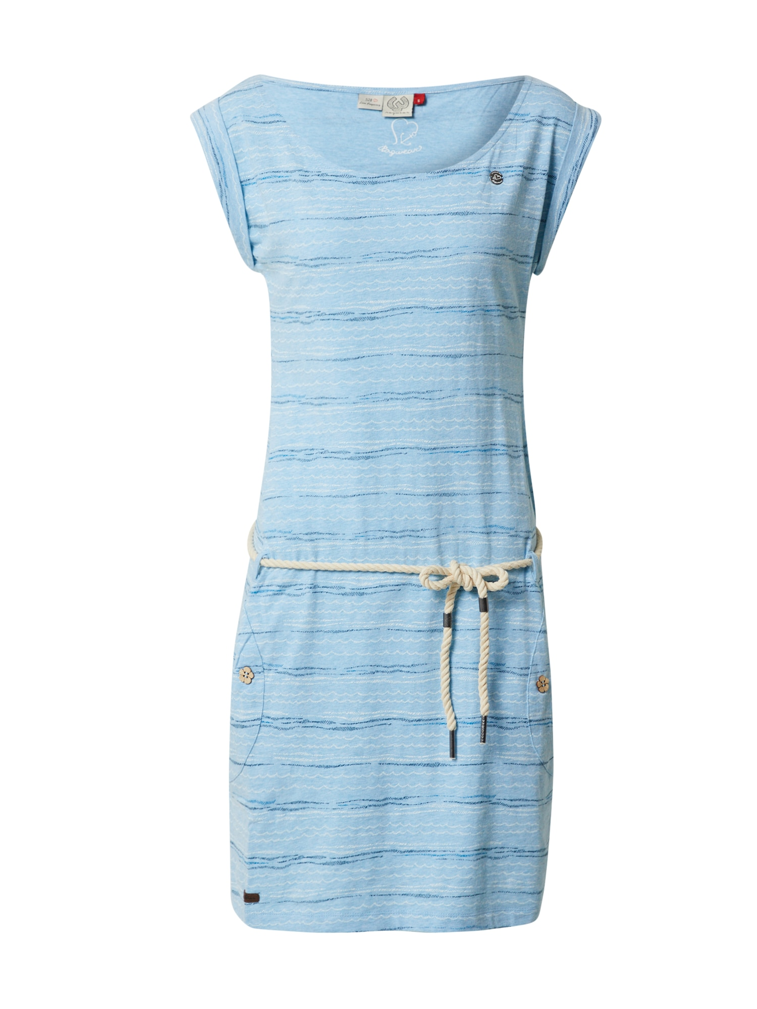 Ragwear Vasarinė suknelė 'TAG SEA' šviesiai mėlyna / rožinė / tamsiai mėlyna