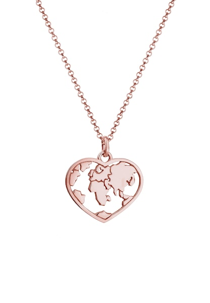 Ketten für Frauen - ELLI Halskette 'Weltkugel' rosegold  - Onlineshop ABOUT YOU