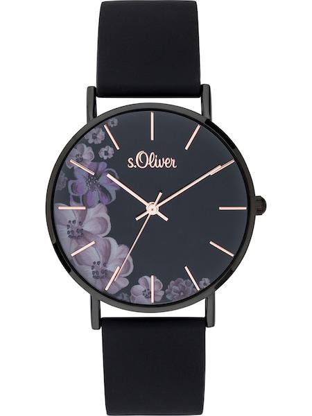 Uhren für Frauen - S.Oliver Uhr 'SO 3708 PQ' schwarz  - Onlineshop ABOUT YOU
