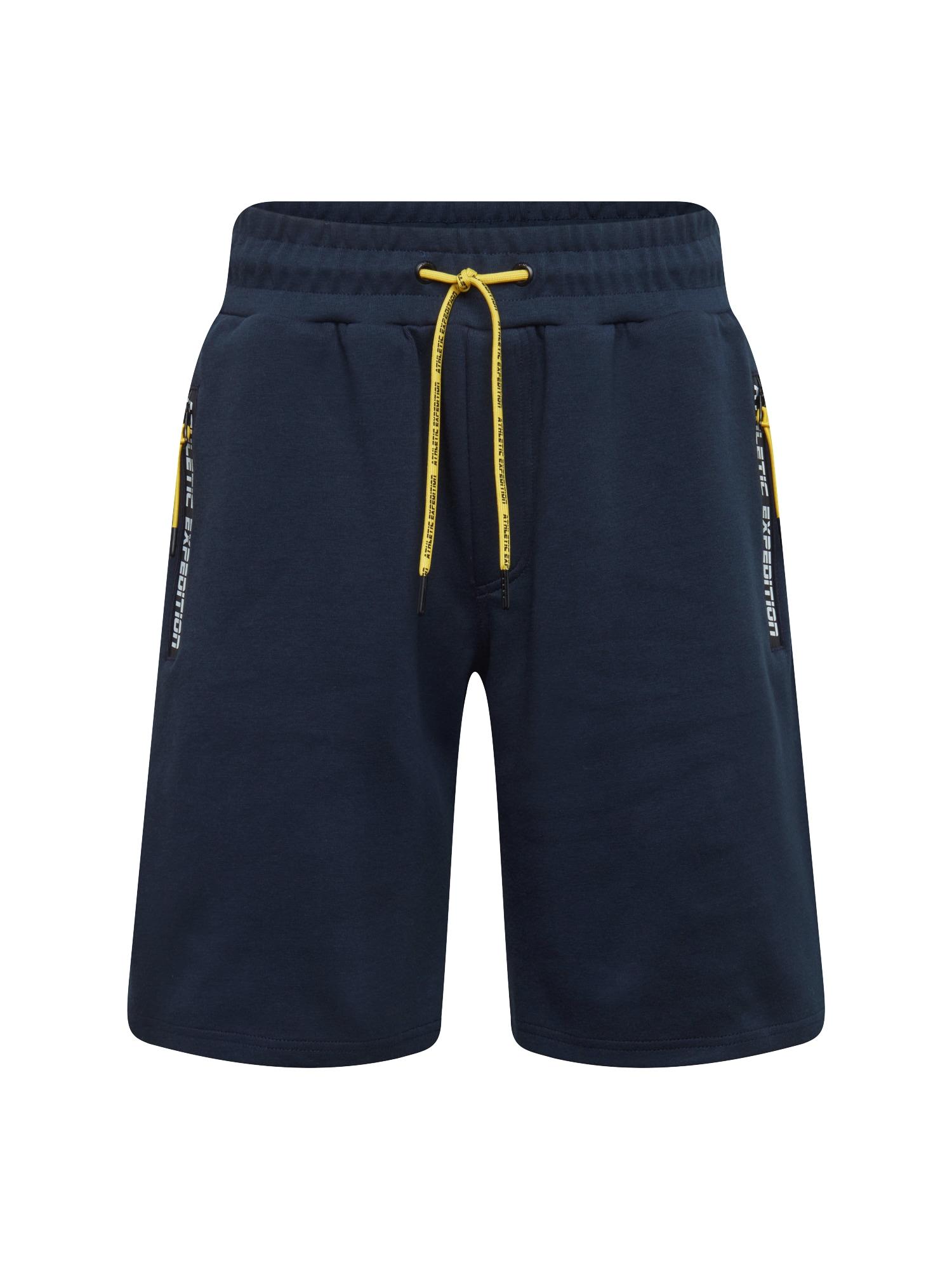 Kalhoty Antifit-Baden tmavě modrá !Solid