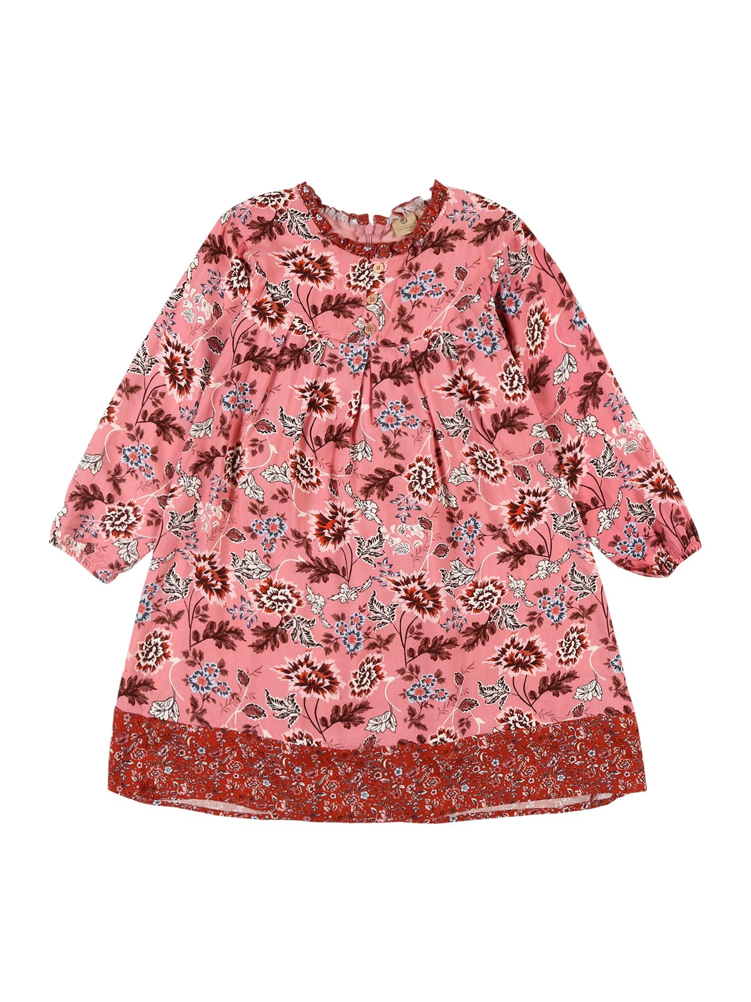 BELLYBUTTON Suknelė rožinė / vyšninė spalva / balta / oranžinė / juoda