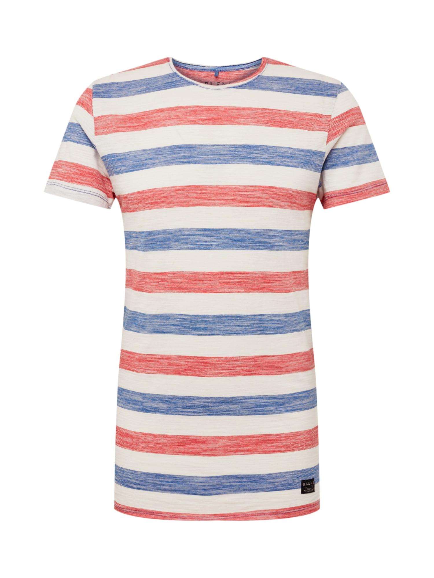 Tričko Tee modrá šedá BLEND