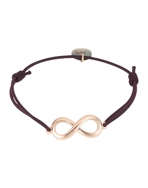 Armbaender für Frauen - Lua Accessories Armband 'Endless' rosegold bordeaux  - Onlineshop ABOUT YOU