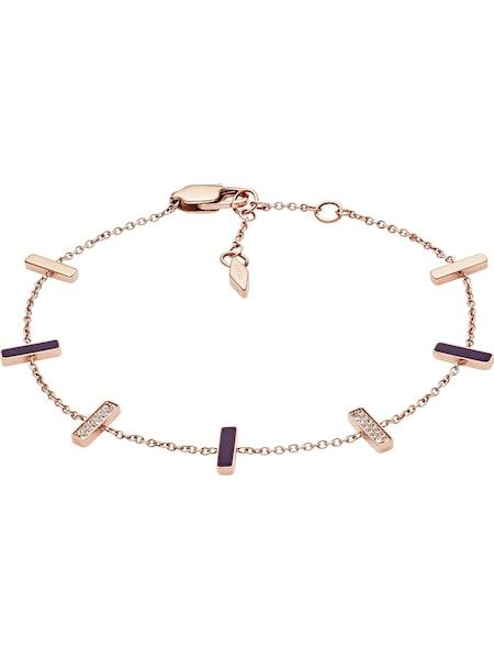 Armbaender für Frauen - FOSSIL Armband 'JF03030791' rosé  - Onlineshop ABOUT YOU