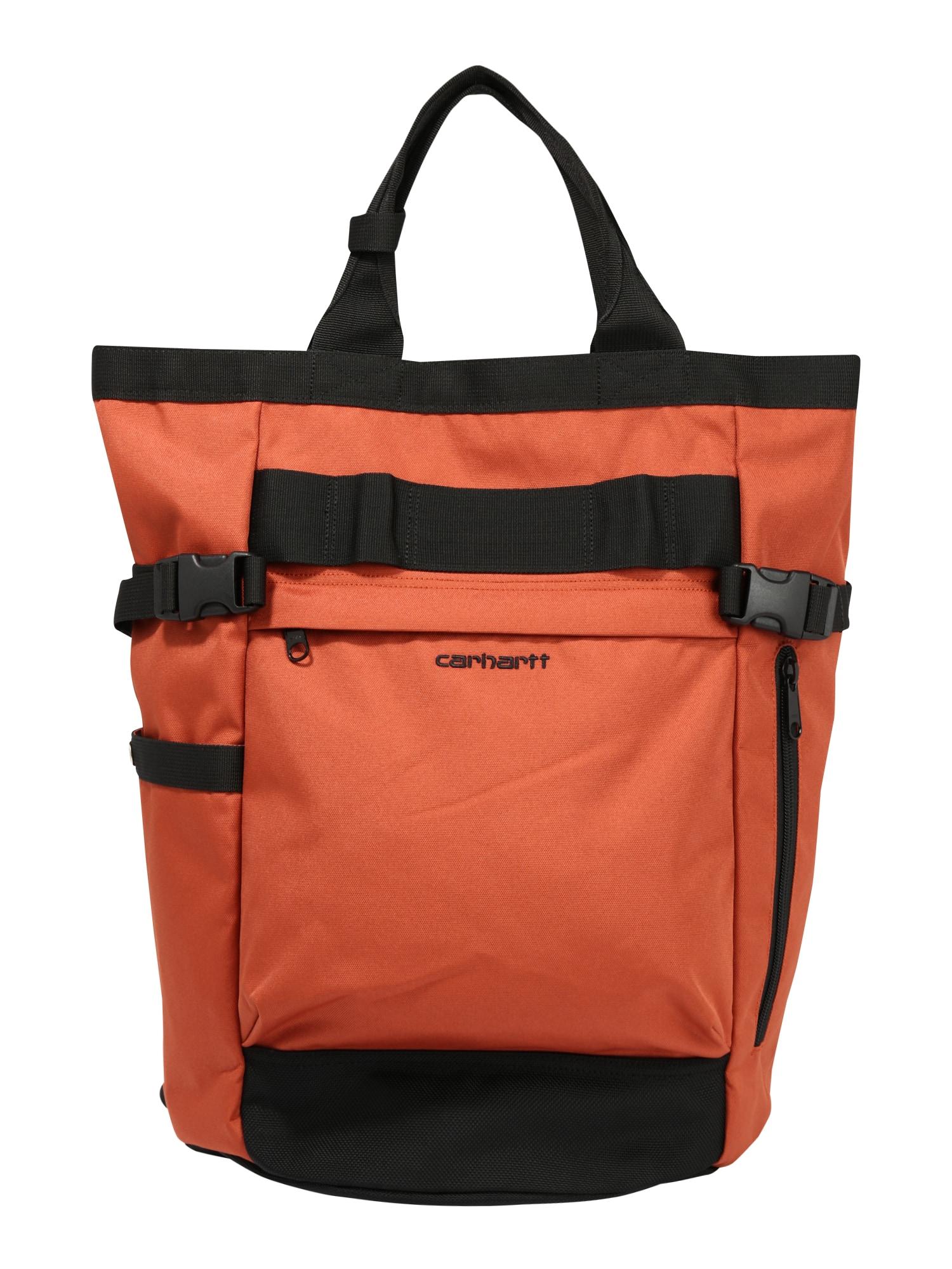 Carhartt WIP Batoh 'Payton'  černá / oranžová