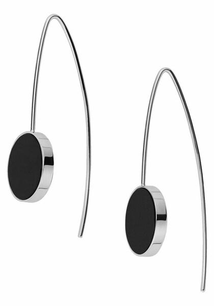 Ohrringe für Frauen - SKAGEN Paar Ohrhaken schwarz silber  - Onlineshop ABOUT YOU