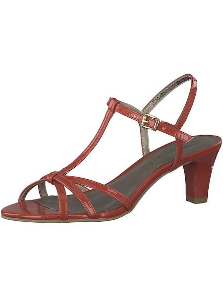 Sandalen für Frauen - Riemensandale › tamaris › rot  - Onlineshop ABOUT YOU