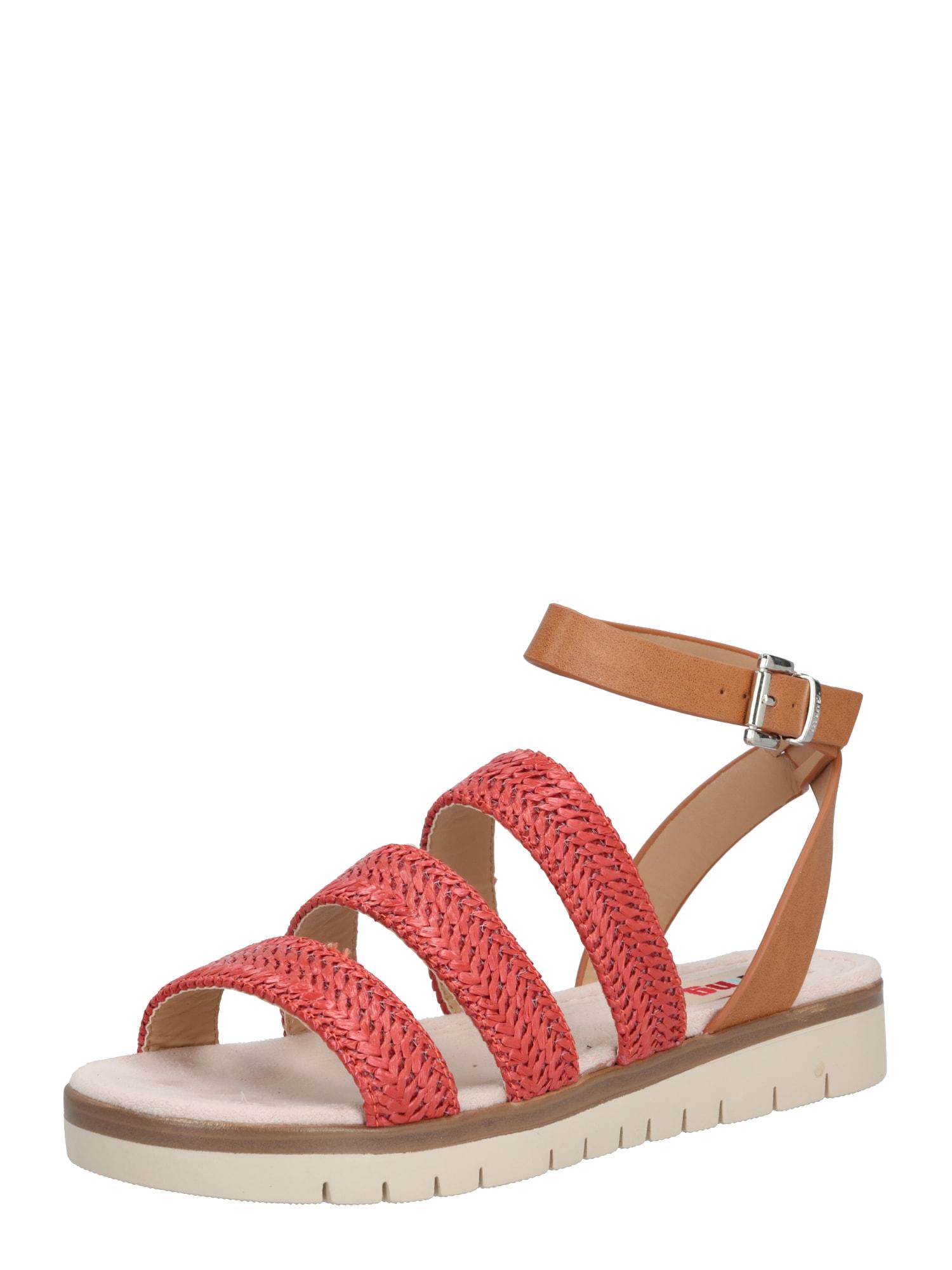 MTNG Sandalai 'DAMAS' ruda / smėlio / raudona