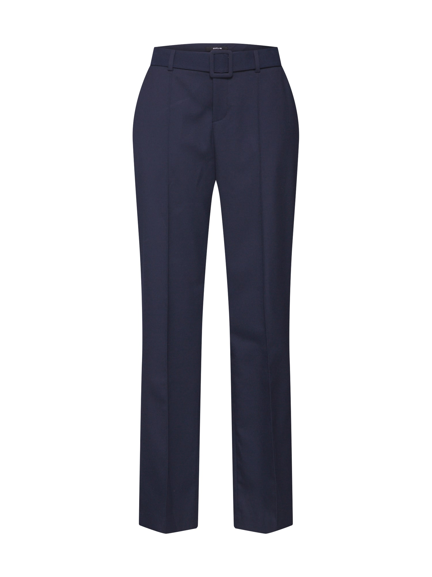 OPUS Kelnės su kantu 'Malina' mėlyna