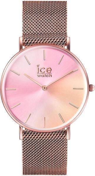Uhren für Frauen - ICE WATCH Quarzuhr 'CITY sunset, 16025' rosegold hellpink  - Onlineshop ABOUT YOU