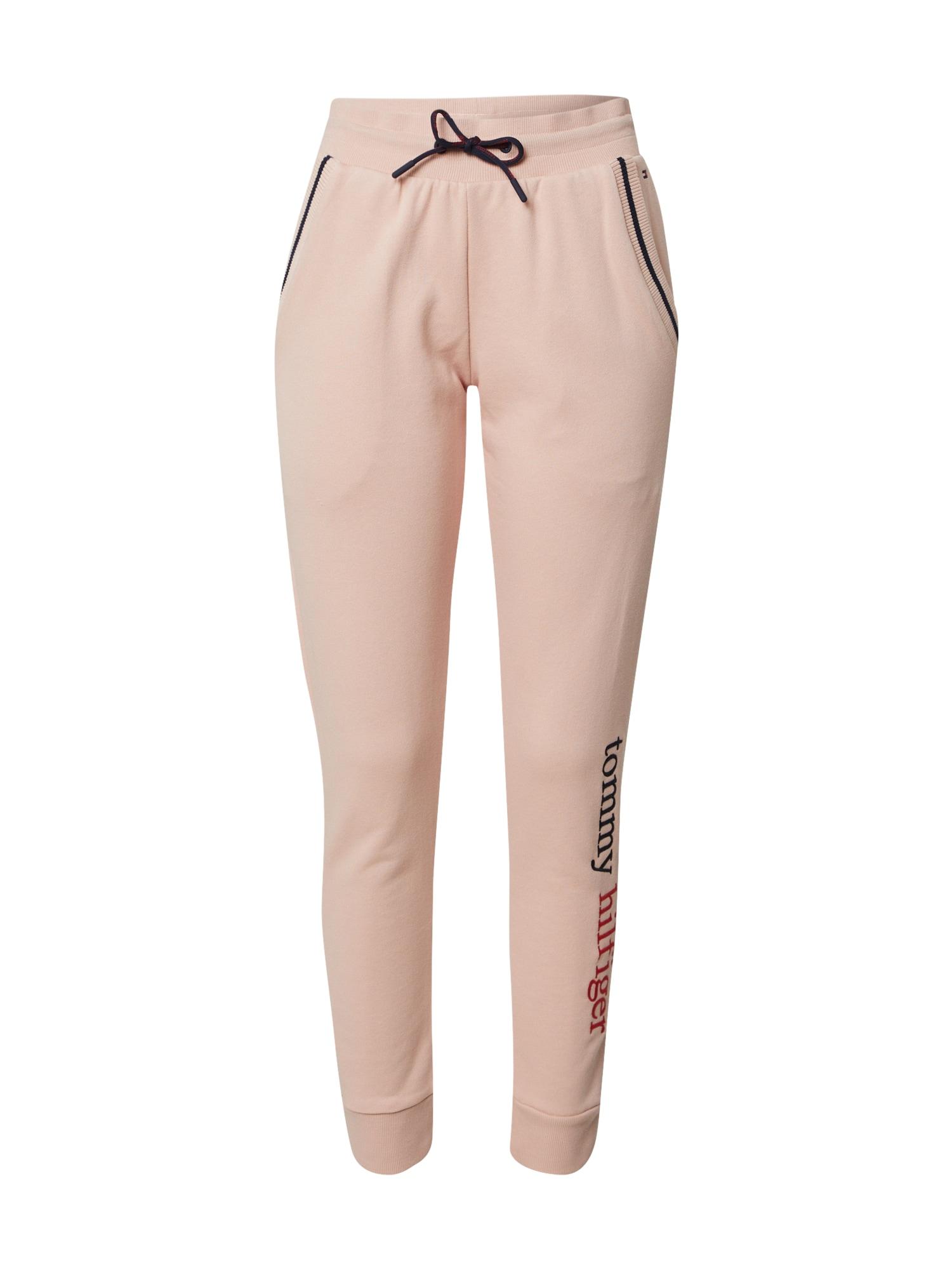 Tommy Hilfiger Underwear Pižaminės kelnės 'PANT LWK' rožių spalva