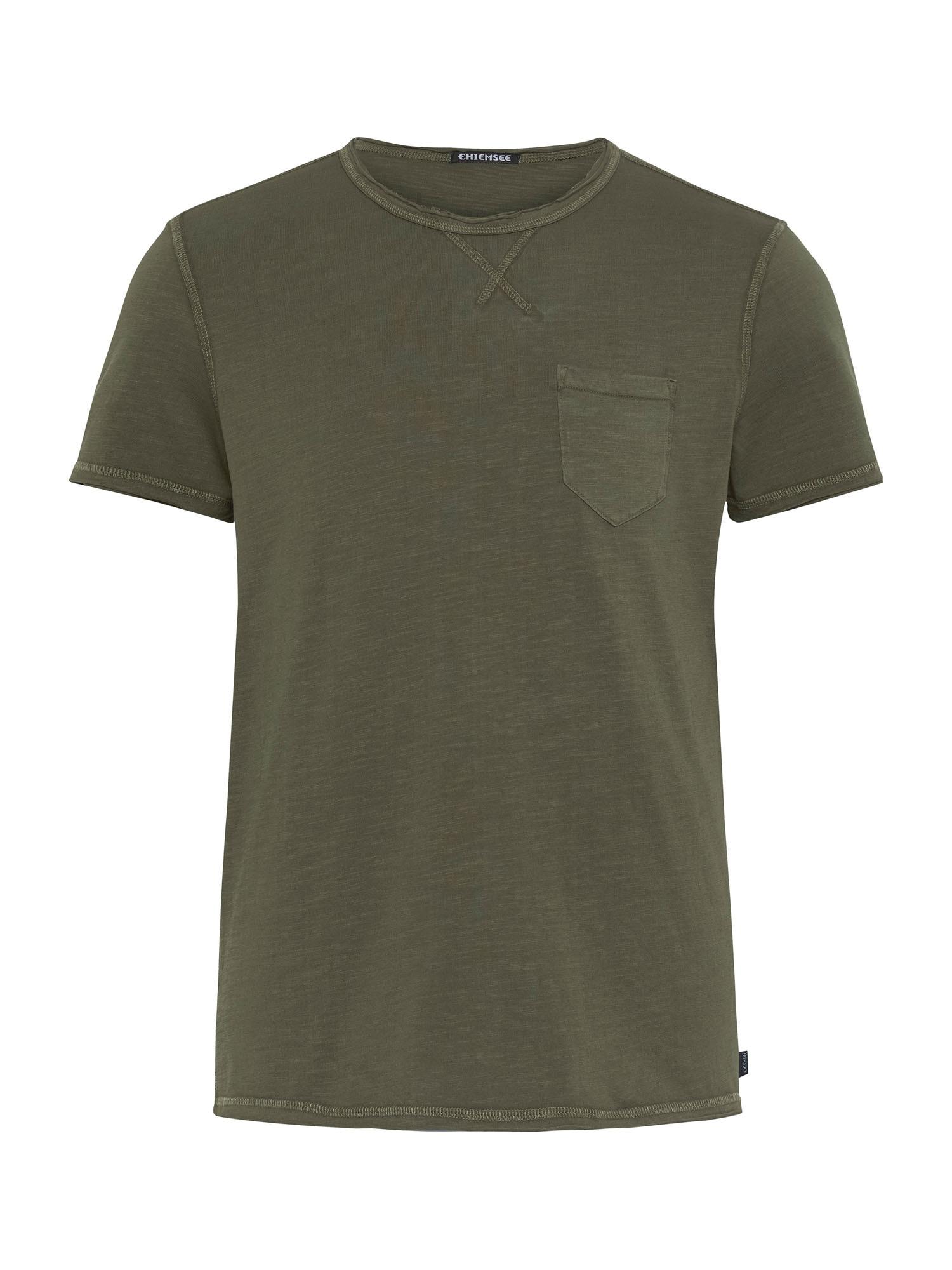 CHIEMSEE Marškinėliai alyvuogių spalva