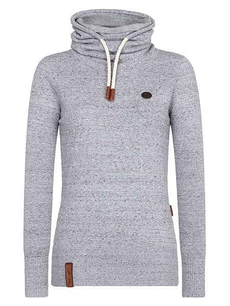 Oberteile für Frauen - Pullover › Naketano › graumeliert  - Onlineshop ABOUT YOU