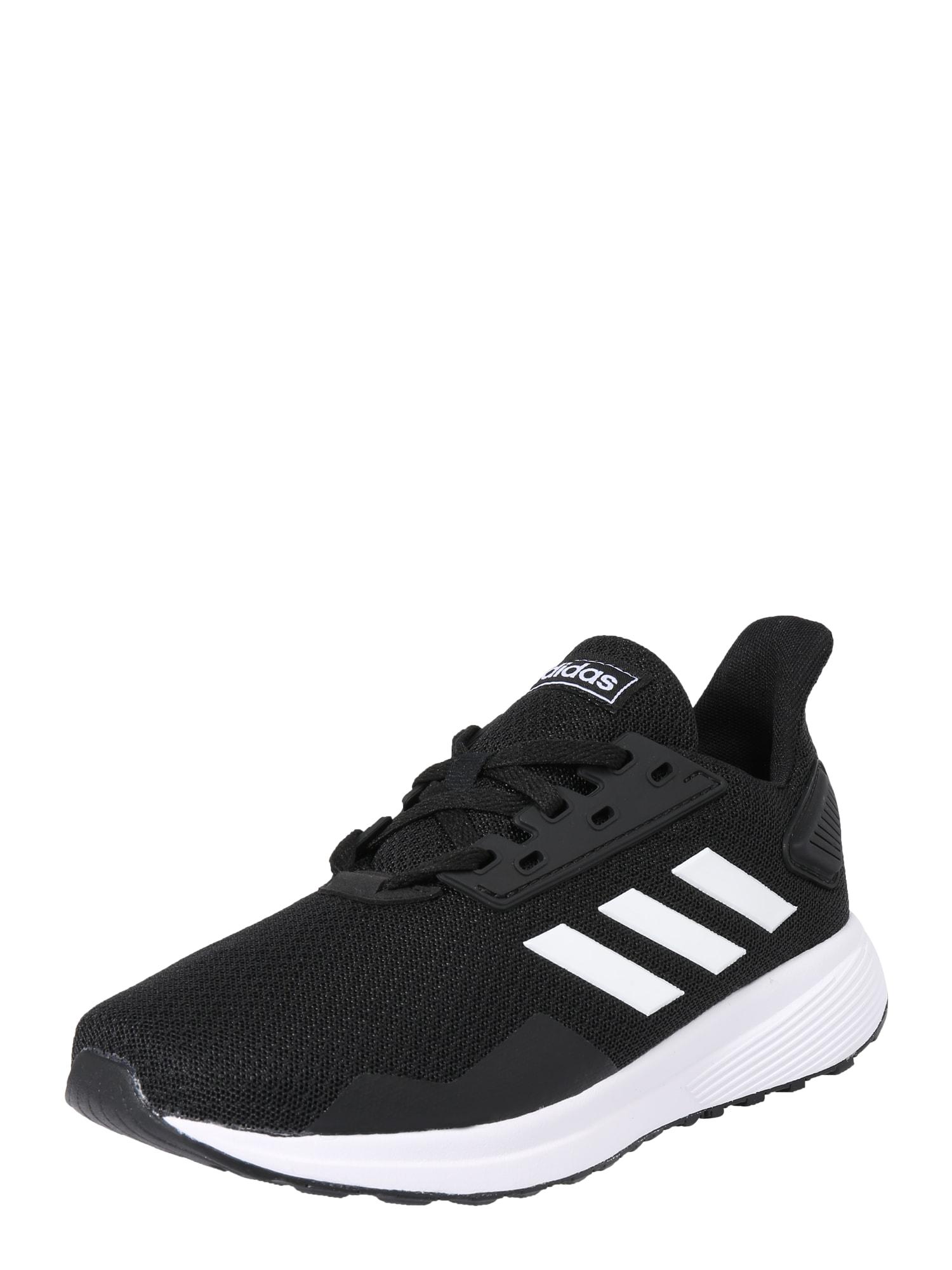 ADIDAS PERFORMANCE Športová obuv 'Duramo 9 K'  čierna / biela