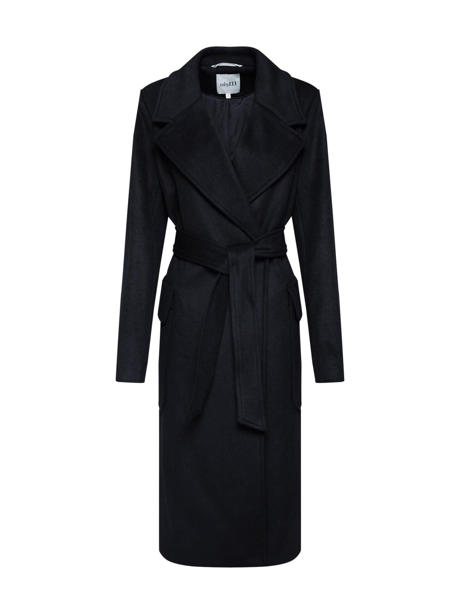 mbym Rudeninis-žieminis paltas 'Toby' juoda