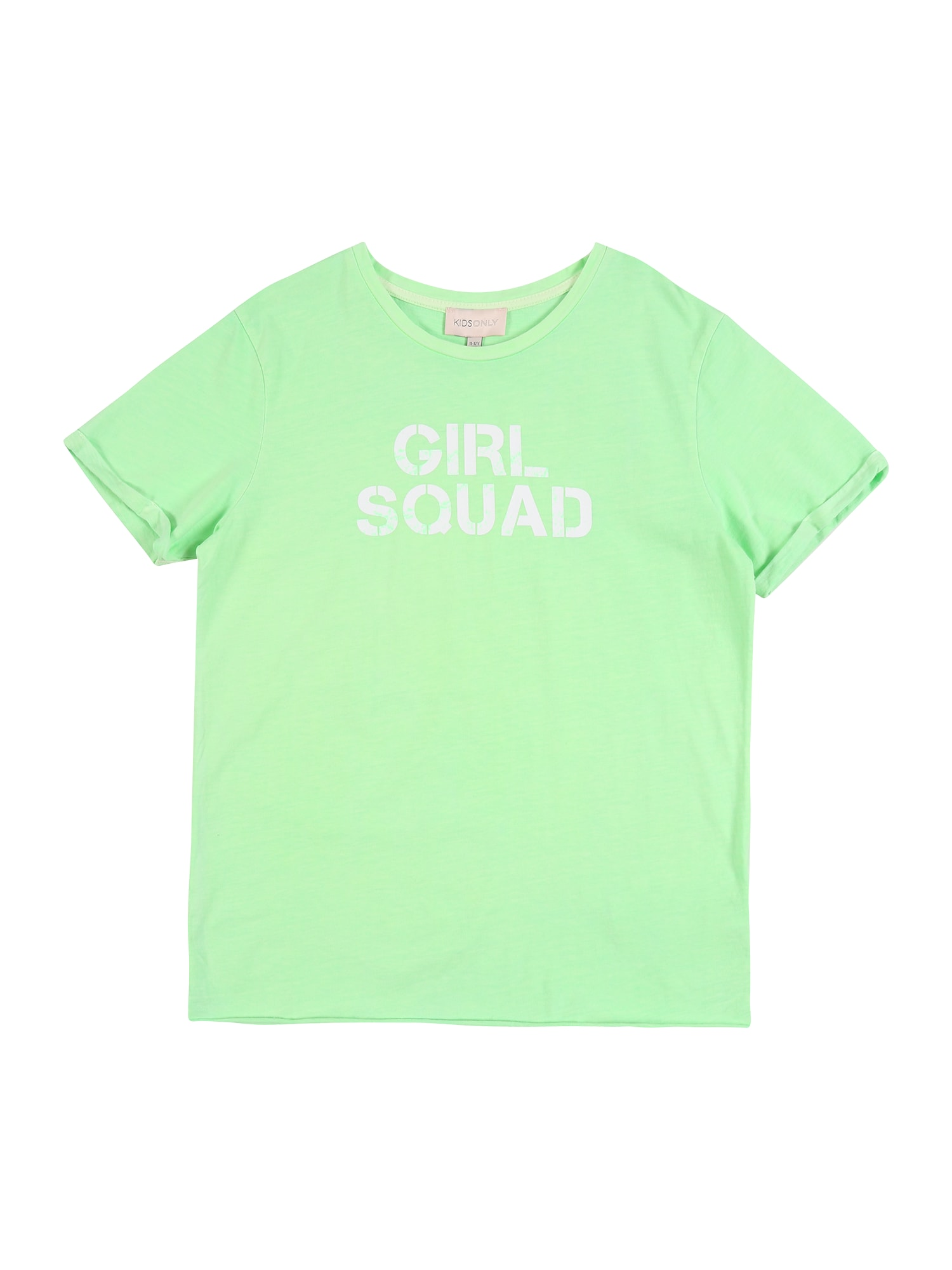 KIDS ONLY Marškinėliai 'KONACID' neoninė žalia
