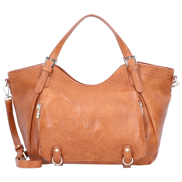 Shopper für Frauen - Desigual Shopper 'Rotterdam' cognac  - Onlineshop ABOUT YOU