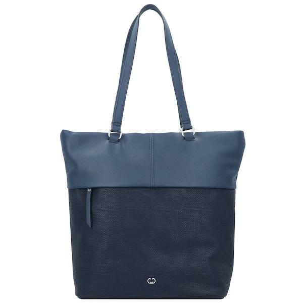 Shopper für Frauen - GERRY WEBER Shopper 'Keep in Mind' blau dunkelblau  - Onlineshop ABOUT YOU