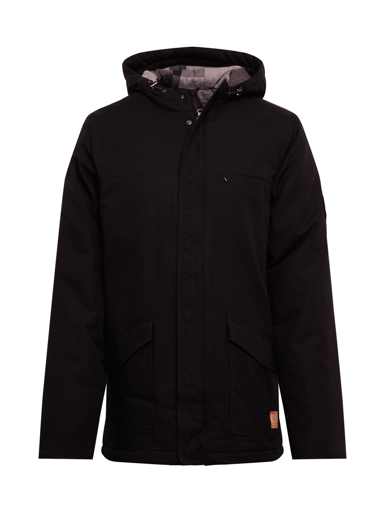 bleed clothing Ilga rudeninė-žieminė striukė 'guerilla thermal Parka' juoda