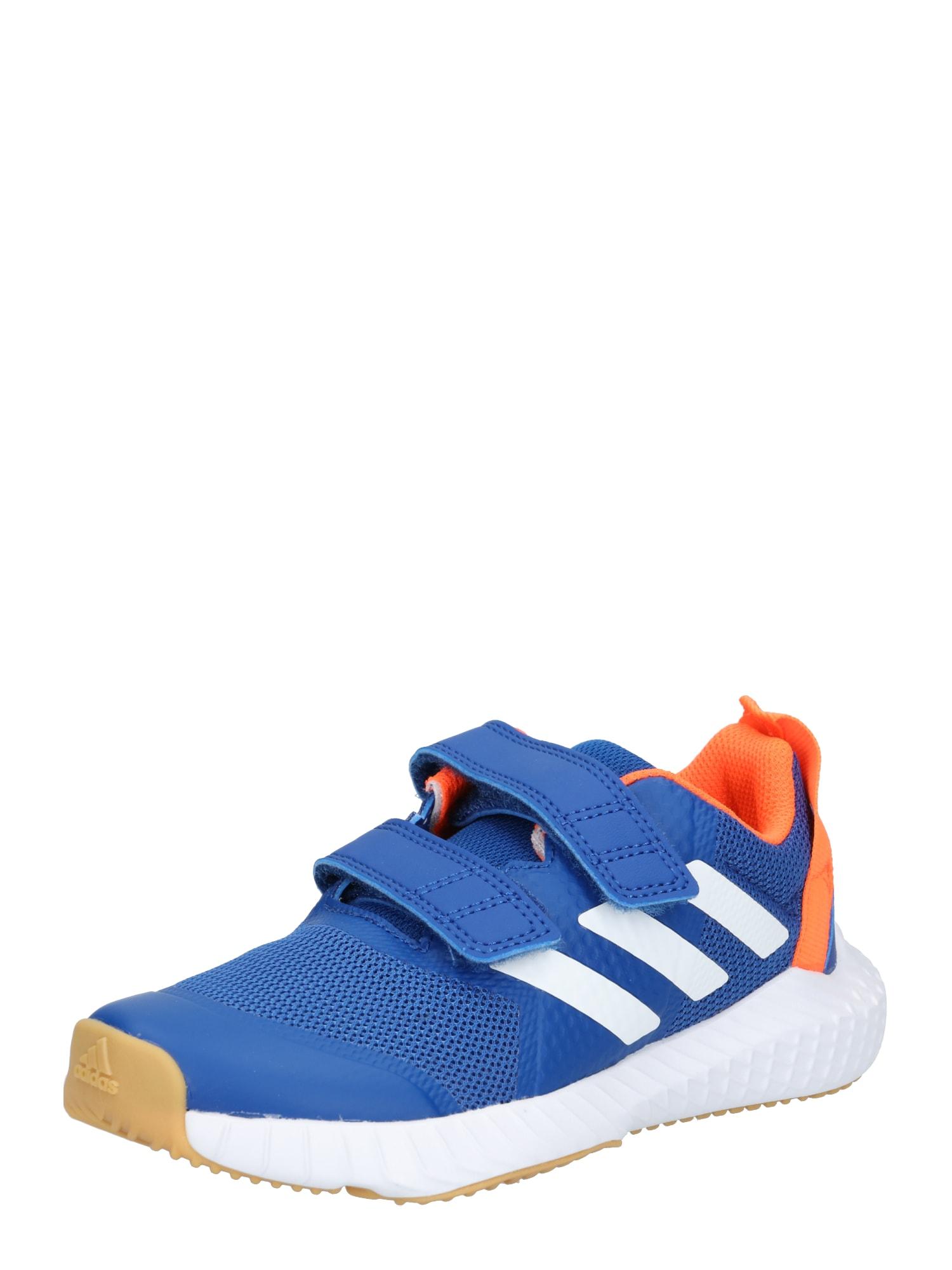 ADIDAS PERFORMANCE Sportiniai batai 'FortaGym CF K' oranžinė / mėlyna
