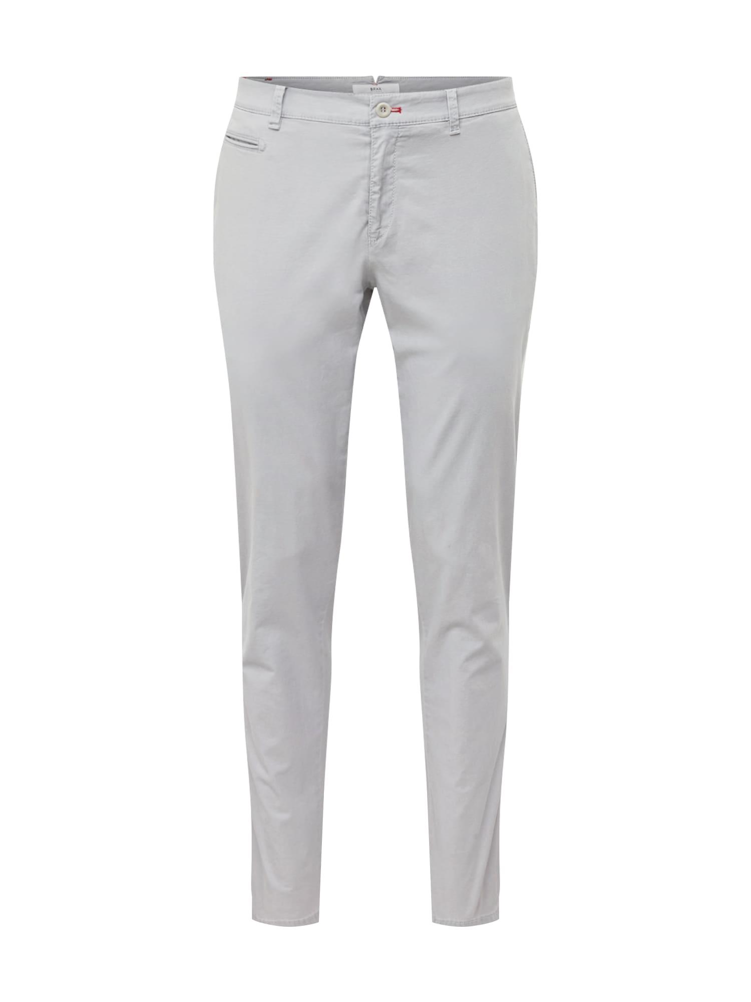 Chino kalhoty fabio in světle šedá BRAX