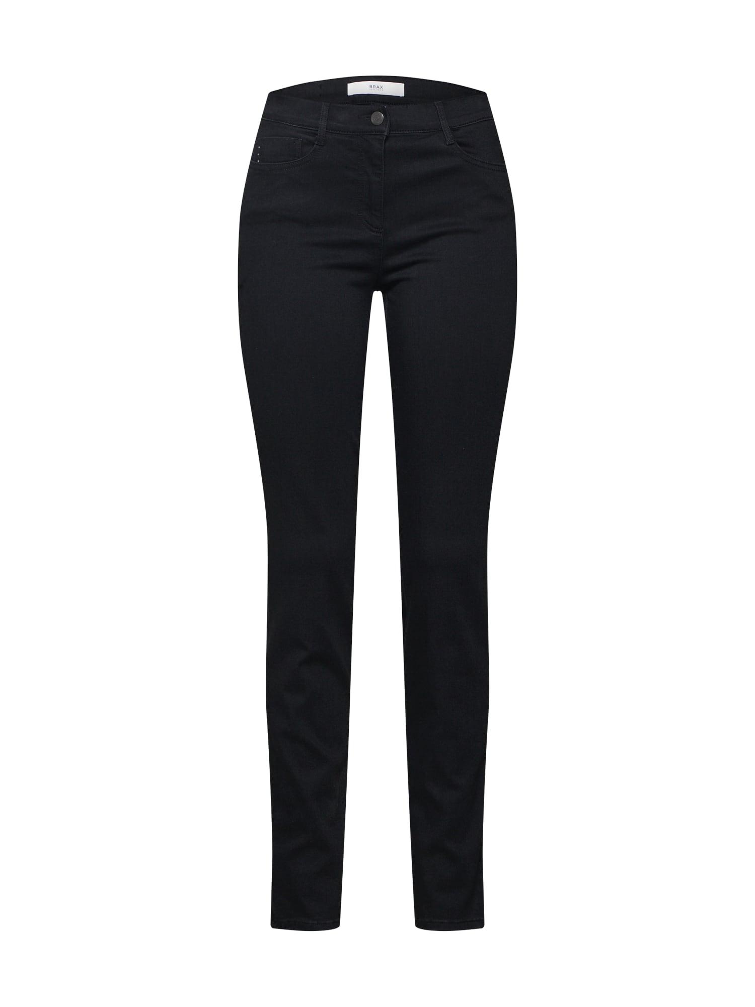 BRAX Džinsai 'Shakira' juodo džinso spalva