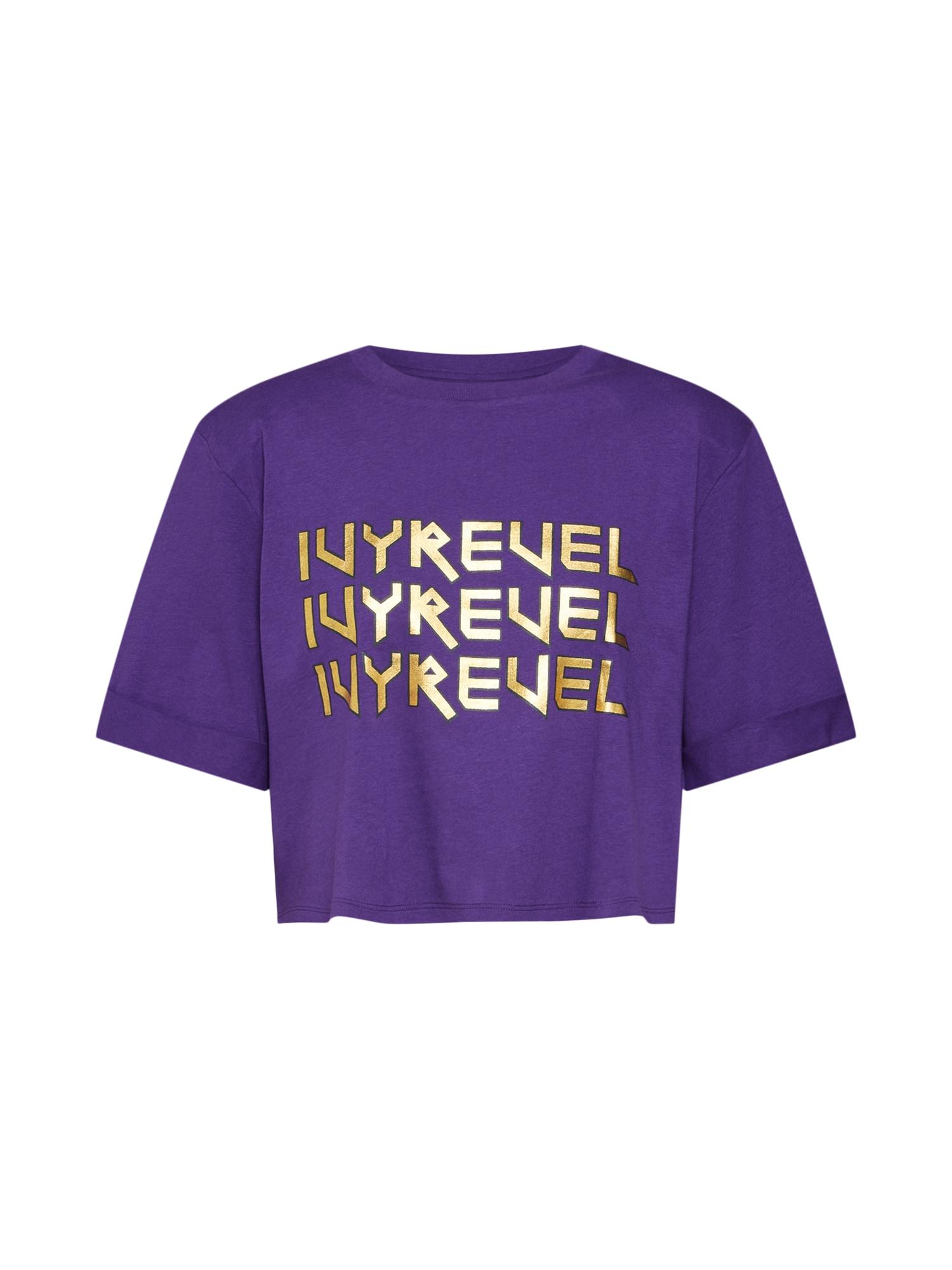 Tričko CROPPED IVY TSHIRT fialová IVYREVEL