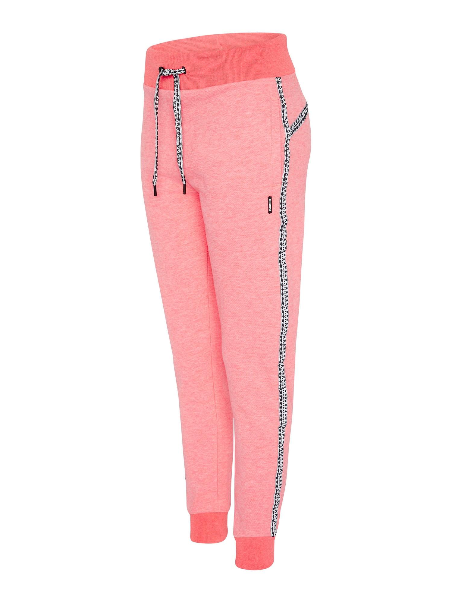 CHIEMSEE Sportovní kalhoty  svítivě růžová