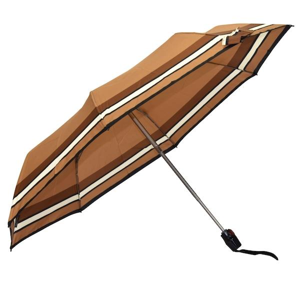 Regenschirme für Frauen - KNIRPS Regenschirm karamell hellbraun schwarz  - Onlineshop ABOUT YOU