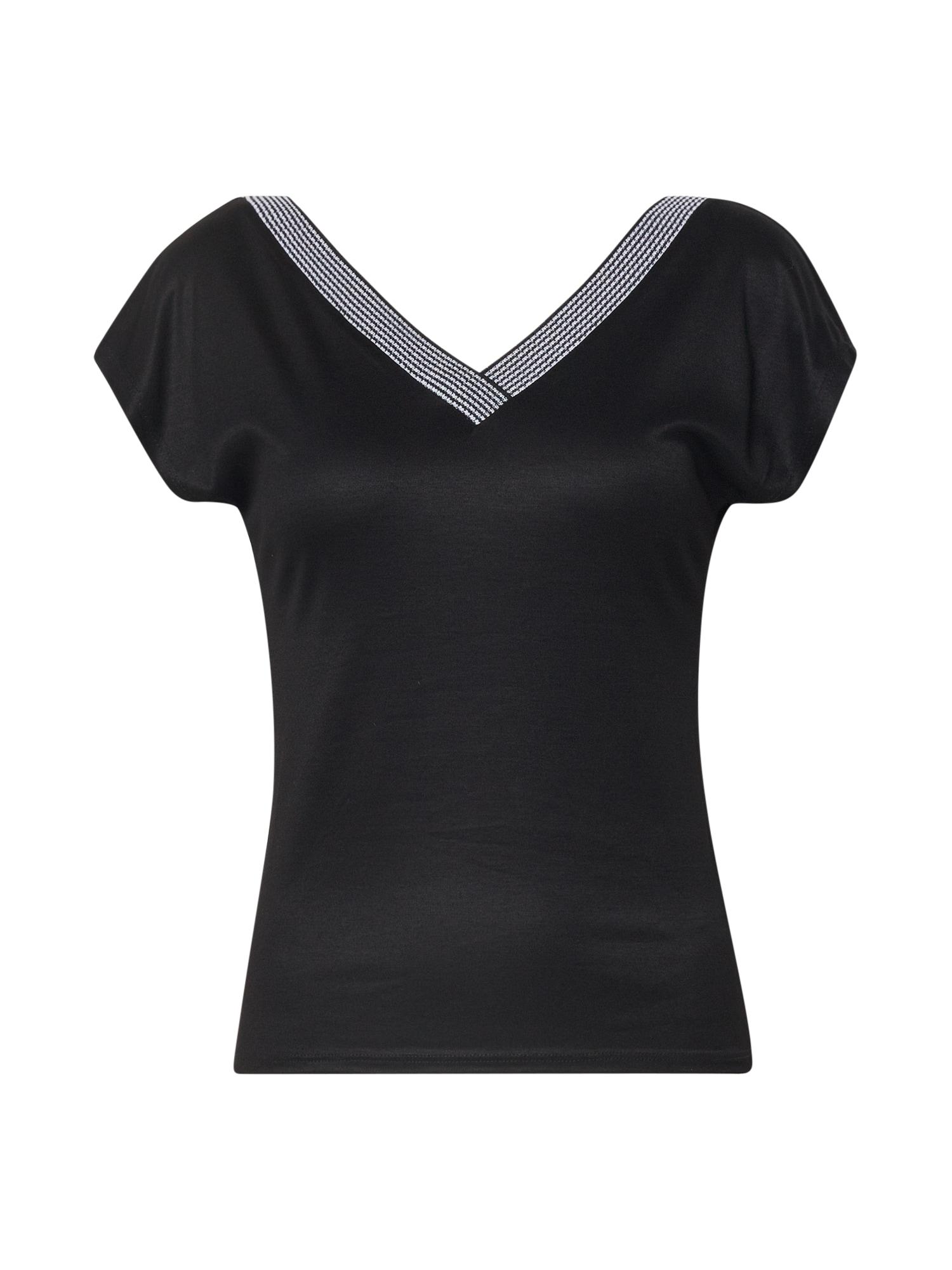 EDITED Marškinėliai 'Liora' juoda