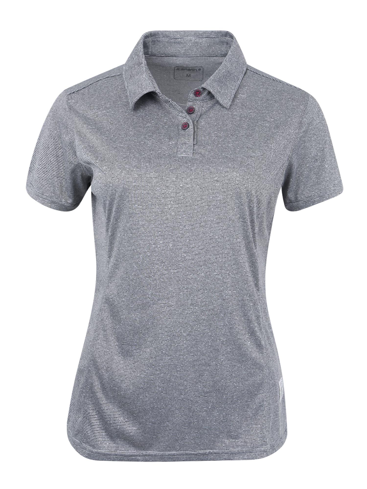 Funkční tričko SHERYL světle šedá ICEPEAK