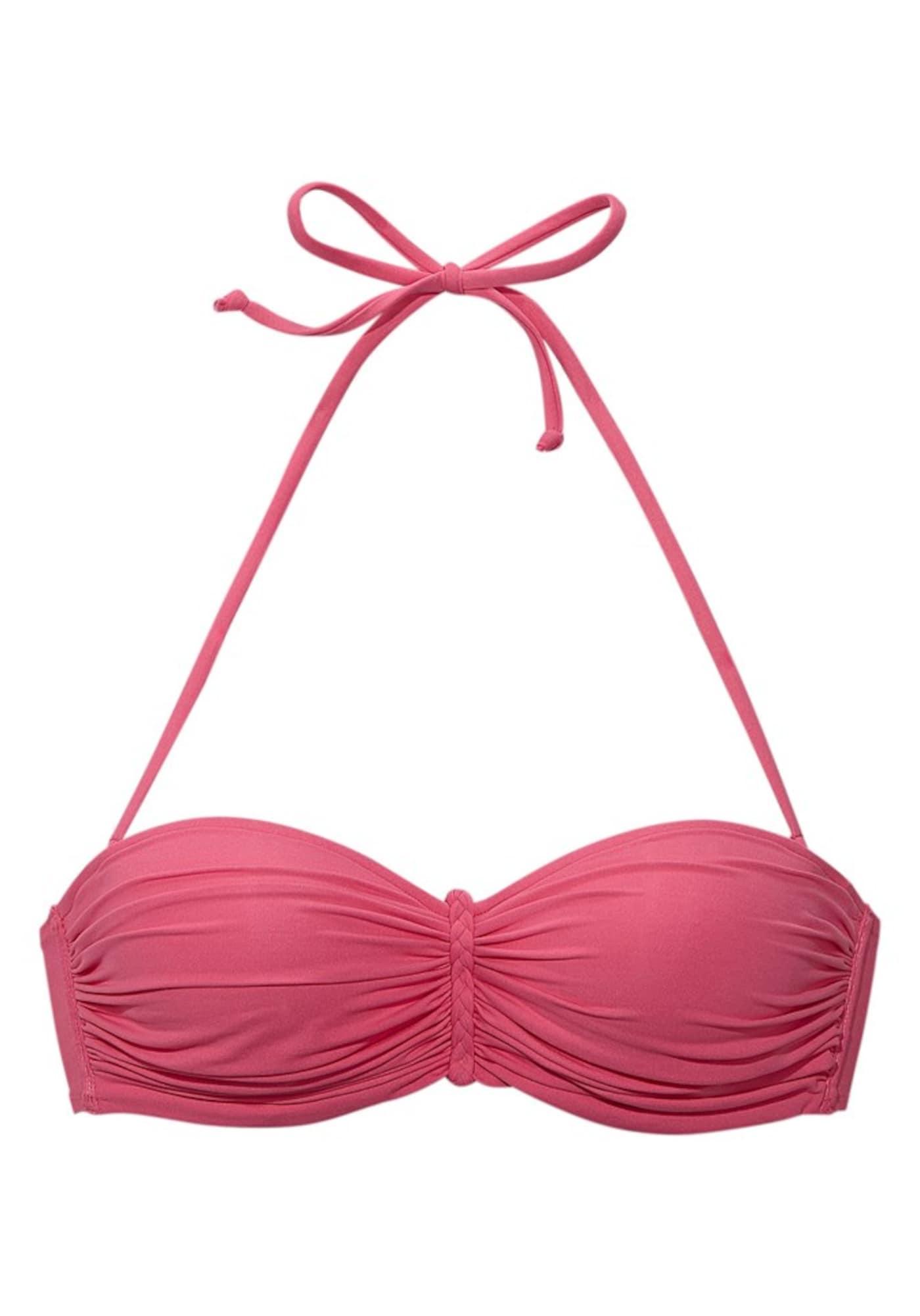 BUFFALO Bikinio viršutinė dalis rožinė