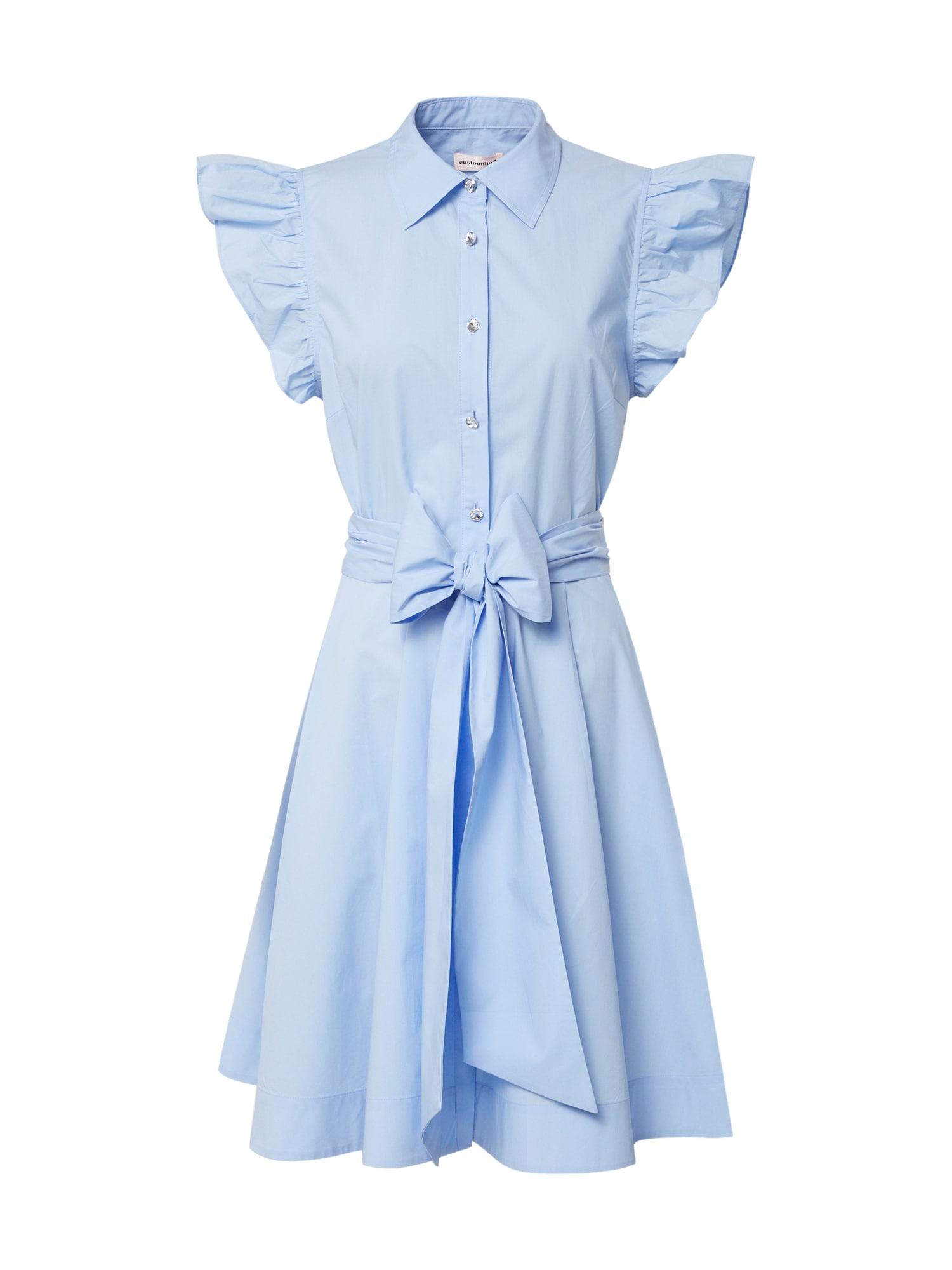 Custommade Letní šaty 'Lira'  světlemodrá
